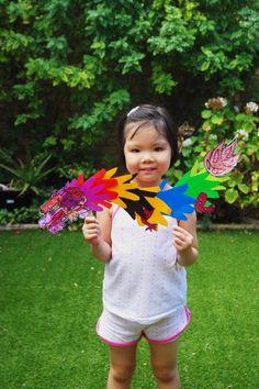 chinese new year craft (3) hand dragon junior primary