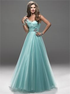 Graceful Ball Gown Sweetheart With Beadings and Feathers Prom Dress PD2163 www.simpledresses.co.uk £128.0000