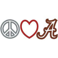 Peace, Love, Alabama