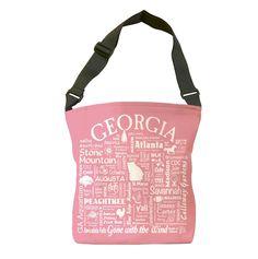 Georgia Location Tote Bag