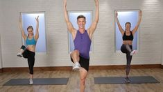 Trainer Jake DuPree wants to help you get ready for the beach, and stat! Focusing on the abs and butt, this 30-minute workout starts with a bang and just kee...