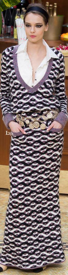 Chanel ~ Fall Knit Maxi,  Multi,  2015