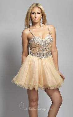 Short Tulle Dress by Dave and Johnny for sale at $240.00 amazing price, it is designer dress and made to order! Its product model is [designerdrsses1480] . CHEAPERDESIGNERDRESSES.COM , will be your friend.