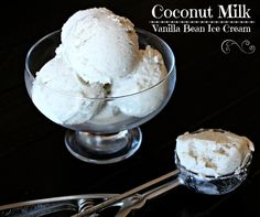 Coconut Milk Vanilla Bean Ice Cream