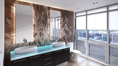 Emphasis Interior Design Fresh This One is An Example Of A Perfectly Balanced Contemporary Modern Bathroom Tile, Contemporary Bathroom Designs, Glass Bathroom, Bathroom Design Small, Modern Bathrooms, Glass Countertops, Bathroom Countertops, Back Painted Glass, Custom Glass