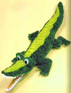 Free Pattern - Крокодил - выкройка мягкой игрушки