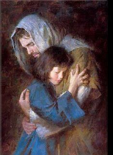 *JESUS ~ Safe in His arms