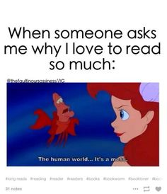 book memes 20 Disney Memes Only Book Lovers Will Understand Funny Disney Memes, Funny Relatable Memes, Funny Jokes, Hilarious, Disney Humor, Disney Quotes, I Love Books, Good Books, My Books