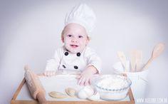 Ensaio Infantil - Cozinheiro