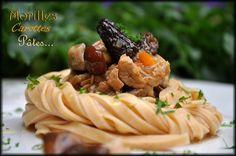Pour ce deuxième jour de la semaine, voici un plat à base de veau et de champignons servis avec ces délicieuses pâtes au piment. Pour 4 personnes, il vous faut : 250g de pâtes tagliatelles au piment Epi-Gourmet 400g de collier de veau sans os 2 carottes...