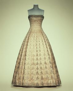 Dress Christian Dior, 1955 The Kyoto Costume Institute
