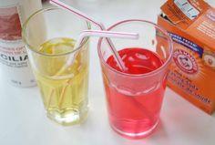 Water, sugar, salt,  and baking soda = pediolite.  Good to know