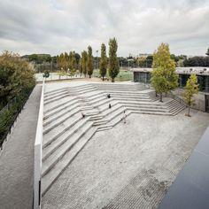 Ampliación de la Escuela Thau de Sant Cugat del Vallès by Batlle i Roig Arquitectes