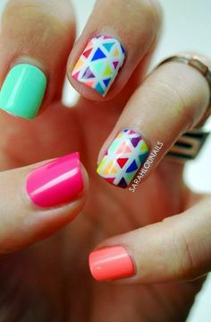 45 Pastel Nails Designs that are Creatively Stylish   Pastel Nails Designs   Easy Nails Designs and ideas   Simple Nails Designs   Fenzyme.com