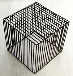 Antonino sciortino. Seat/Table hand welded iron