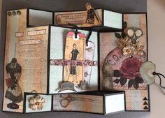 Hekta på papirkunst: DT inspirasjon for Scrappiness