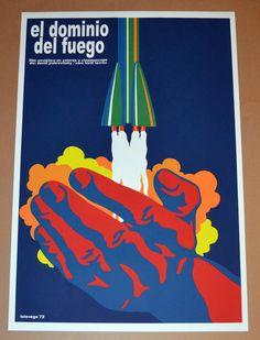 """24x36/"""" Cuban movie Poster 4 film Poisoned by Blues.Me enveneno de azules.LAST 1"""