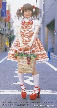 /cgl/ - Old school lolita - Cosplay & EGL Japanese Street Fashion, Tokyo Fashion, Harajuku Fashion, Kawaii Fashion, Lolita Fashion, Cute Fashion, Fashion Styles, Japanese Streetwear, Harajuku Girls