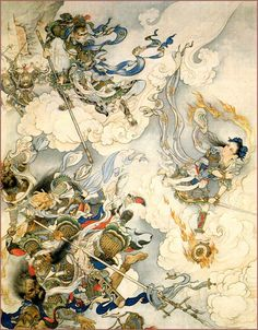 Monkey King by Liu Jiyou