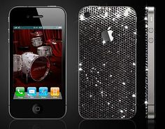 Ballin'! Swarovski Crystal iPhone Case...WANT.