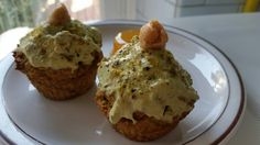Matcha cupcakes ▶100% Healthy recipe
