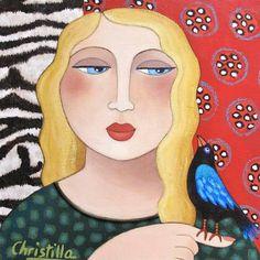 Hui us invitem a gaudir de les il·lustracions de Christilla Germain en les que un grapat de dones gaudeixen dels xicotets i importants detalls quotidians ...