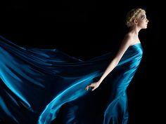 Blue Silk Stock - Concept by Faestock by MariaAmanda.deviantart.com on @deviantART