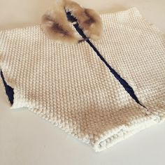 Distinctive kimono in cream bobble jersey for a sporty Japanese look #uber #cool. By Blanche in the Brambles