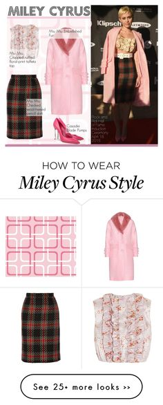 """""""Miley Cyrus"""" by swweetalexutza on Polyvore"""