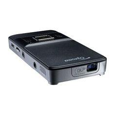 Optoma PK201 Pico Pocket Projector: http://suliaszone.com/optoma-pk201-vga-20-led-lumens-pico-pocket-projector/