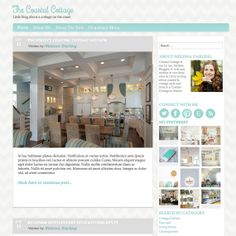 WordPress Theme  Coastal Cottage  Instant by IdyllicDesignStudio, $35.00 Love this!