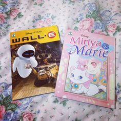 Mangás do Wall-E e da Marie, da Editora Abril <3