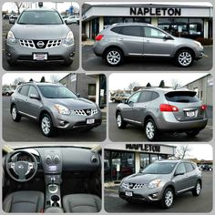 Used 2012 Nissan Rogue SL.The Rogue's combination of a roomy interior and high roofline compared to secure, car-like handling--and its small-car maneuverability--make it a great choice for small families!