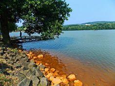 Единственное  Уникальное  в Мире  Квасцовое озеро  - Alum lake - Kamenco...