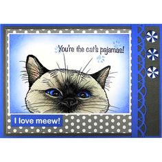 Stampendous - NOSY CAT Cling Rubber Stamp – Hallmark Scrapbook