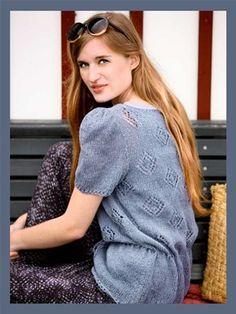 Blusen her er en dejlig løs model.