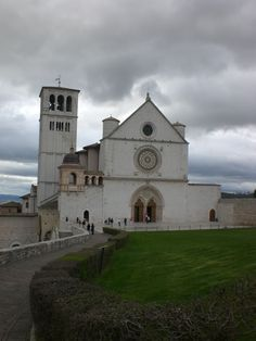 Basilica de San Francesco. Assisi, Italy. This rather modest (compared to the more opulent churches found in Tuscany) church in Arezzo is dedicated to Francis of Assisi, one of the most well known Catholic saints (remembered for his love of nature and animals). The décor includes well-preserved frescos from Medieval times and the early Renaissance.