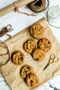 Yummy Cookies, Cupcake Cookies, Baking Cookies, Twisted Recipes, Dessert Blog, Sweet And Salty, Chocolate Chip Cookies, Sweet Recipes, Cookies Et Biscuits