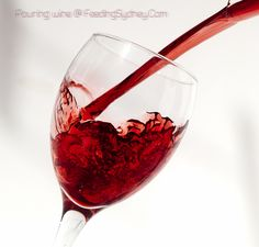 Wine looks as good as it tastes. Pouring Wine, Red Wine, Alcoholic Drinks, Glass, Food, Drinkware, Corning Glass, Essen, Liquor Drinks