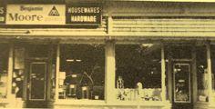 Harveys in 1970. main street.