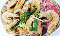 Fried Shrimp with salt & pepper