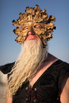 I did not know Gandolf was at Burning Man - rock on wizard!
