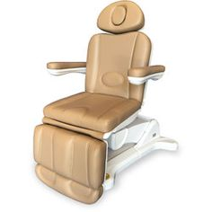 Adda+ 4-Motor Electric Esthetics - Podiatry Chair -  Brandy Tan Upholstery - The Adda+ 4-Motor Electric Esthetics / Podiatry Chair is an upmarket chair with very stable structure and high comfort. Great for podiatry.  Specially designed to optimize