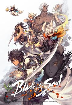 Blade and Soul - girls,boys,mixed by Hyung Tae Kim Blade And Soul Anime, Blade & Soul, Blade And Soul Lyn, Game Character, Character Concept, Game Poster, Hyung Tae Kim, Game Concept Art, Soul Art