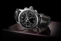 The Patek Philippe 5370 Split-Seconds Chronograph, With Black Enamel Dialvia hodinkee