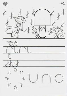 Íráselemek gyakorlása - boros.patricia - Picasa Webalbumok Learning Centers, Fun Learning, Teaching Kids, Tracing Worksheets, Preschool Worksheets, Motor Activities, Activities For Kids, Grande Section, Handwriting Practice