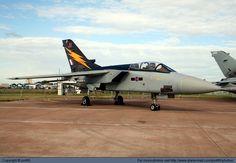 UK - Royal Air Force (RAF) Panavia Tornado F3 ZE734 at RAF Fairford