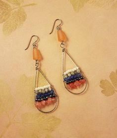 Debbie Blair's Color Inspiration - A Classic Color Combo - , Design, Design, lighthouse earrings