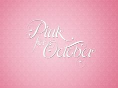 (via Principally Pink / Pink for October…Breast Cancer Awareness Month)