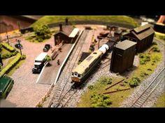 A small N gauge model railway layout - Janet's Reward by Jason Pierce - YouTube